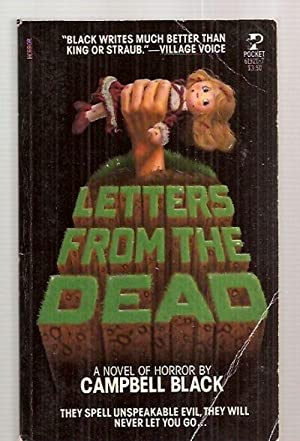 LETTERS FROM THE DEAD [A NOVEL OF: Black, Campbell [cover