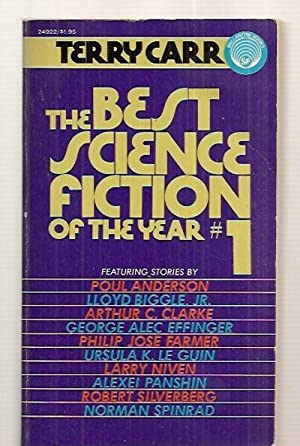 THE BEST SCIENCE FICTION OF THE YEAR: Carr, Terry (edited