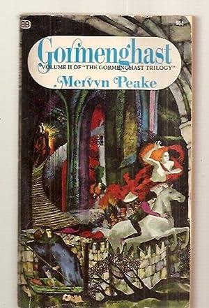 """GORMENGHAST [VOLUME II OF """"THE GORMENGHAST TRILOGY""""]: Peake, Mervyn [cover"""