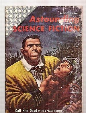 ASTOUNDING SCIENCE-FICTION AUGUST 1955 VOL. LV NO.: Astounding Science-Fiction) [edited