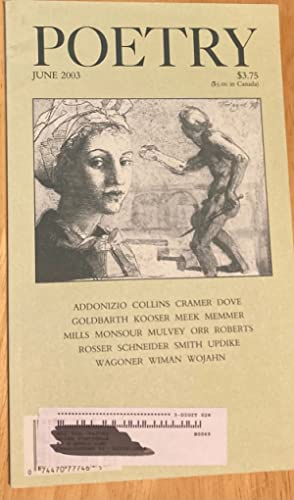 POETRY VOLUME CLXXXII [182] NUMBER 3 JUNE: Poetry) Parisi, Joseph