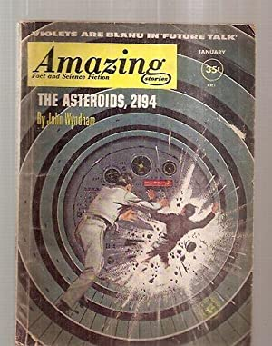 AMAZING STORIES JANUARY 1961 VOLUME 35 NUMBER: Amazing Stories) [cover