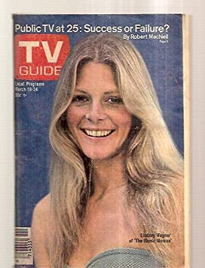 Tv Guide March 18 1978 Vol. 26 No. 11 Issue #1303 [public Tv At 25: Success Or Failure? / Lindsay...
