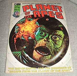 Planet of the Apes Volume 1 Number 12 September 1975