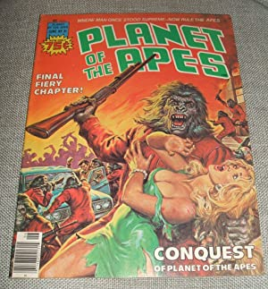 Planet of the Apes Volume 1 Number 21 June 1976