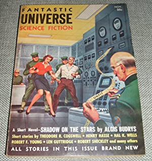 Fantastic Universe Science Fiction November 1954
