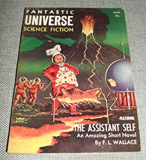 Fantastic Universe Science Fiction for March 1956