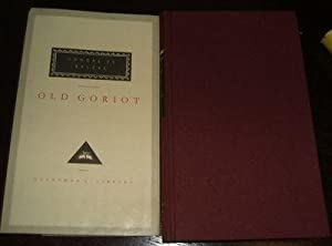 Old Goriot Translated from the French by Ellen Marriage