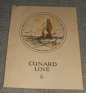 Original 1928 Birthday Dinner Menu on R.M.S. Carinthia
