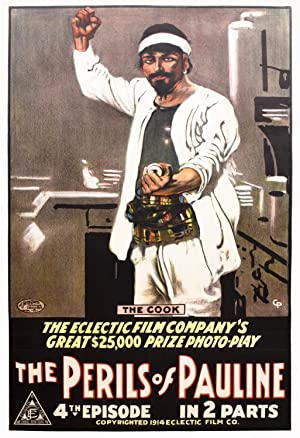 Vintage Poster from The Perils of Pauline: Charles Goddard]