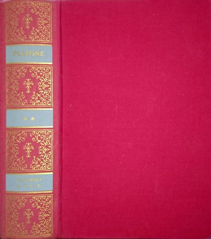 DIALOGHI POLITICI E LETTERE VOLUME II 2 SECONDO - PLATONE