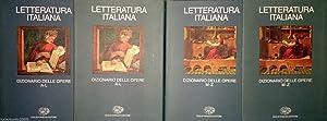 LETTERATURA ITALIANA DIZIONARIO DELLE OPERE A-L M-Z: ALBERTO ASOR ROSA