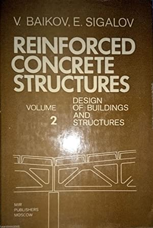 REINFORCED CONCRETE STRUCTURES VOLUME 2 DESIGN OF BUILDING STRUCTURES