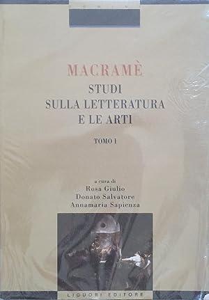 MACRAMè STUDI SULLA LETTERATURA E LE ARTI: Rosa Giulio Donato