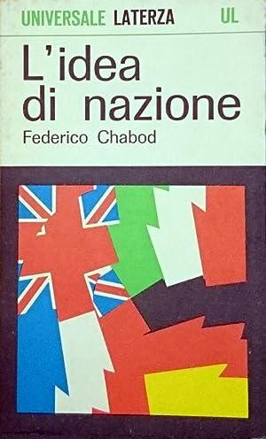 L'IDEA DI NAZIONE: FEDERICO CHABOD
