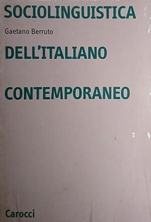 SOCIOLINGUISTICA DELL'ITALIANO CONTEMPORANEO: GAETANO BERRUTO