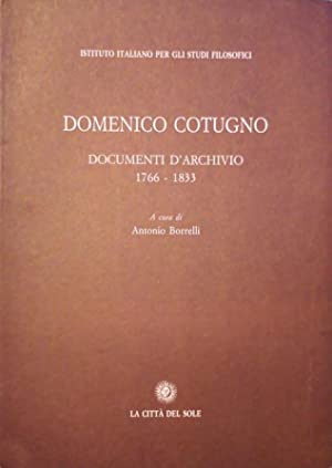 DOCUMENTI D'ARCHIVIO 1766-1833
