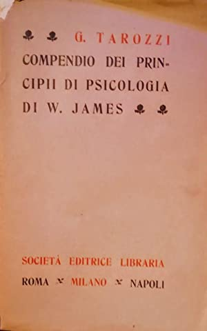 COMPENDIO DEI PRINCIPI DI PSICOLOGIA DI WILLIAM JAMES