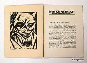 Das Kunstblatt. Hrsg. von Paul Westheim. November 1917, Heft 11. Mit 1 Orig.-Holzschnitt von Otto ...