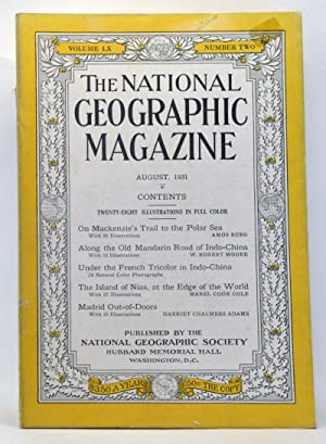 The National Geographic Magazine, Volume 60, Number: Grosvenor, Gilbert (ed.);
