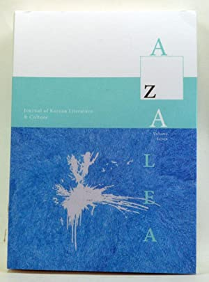 Azalea Journal of Korean Literature and Culture, Volume 7 (2014)