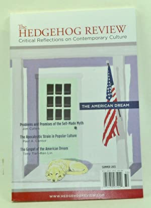 The Hedgehog Review: Critical Reflections on Contemporary: Geddes, Jennifer L.