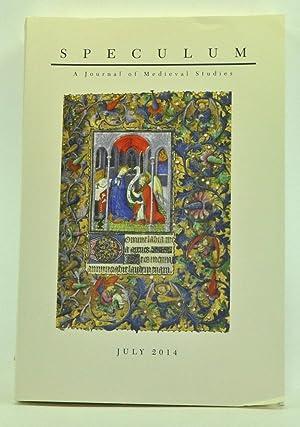 Speculum: A Journal of Medieval Studies. Volume: Spence, Sarah (ed.);