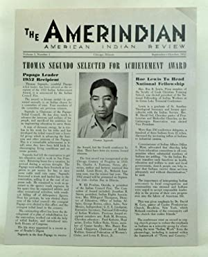 The Amerindian: American Indian Review, Volume 1, Number 1 (September-October 1952)