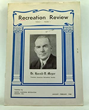 Recreation Review, Volume 1, Number 1 (January-February 1948)