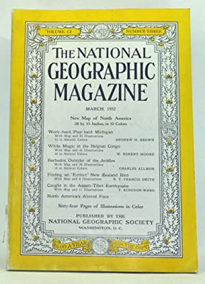The National Geographic Magazine, Volume 101, Number 3 (March 1952)