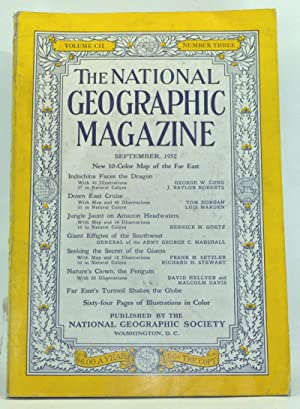 The National Geographic Magazine, Volume 102, Number 3 (September 1952)