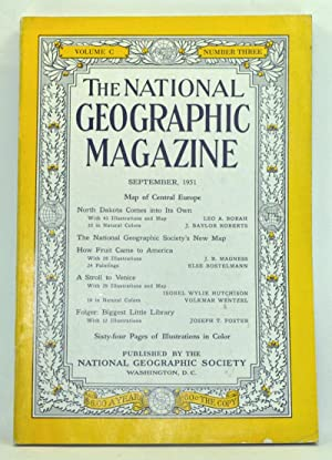 The National Geographic Magazine, Volume 100, Number 3 (September 1951)