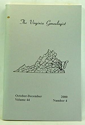 The Virginia Genealogist, Volume 44, Number 4,: Dorman, John Frederick