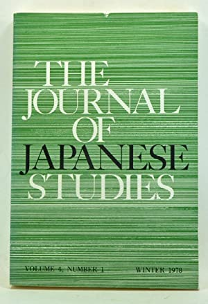 The Journal of Japanese Studies, Volume 4,: Pyle, Kenneth B.