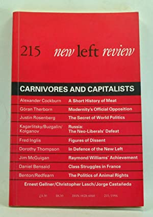 New Left Review Number 215 (January-February 1996). Carnivores and Capitalists