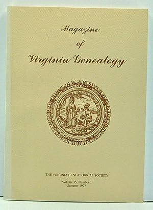 Magazine of Virginia Genealogy, Volume 35, Number: Little, Barbara Vines