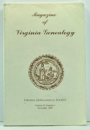 Magazine of Virginia Genealogy, Volume 47, Number: Little, Barbara Vines