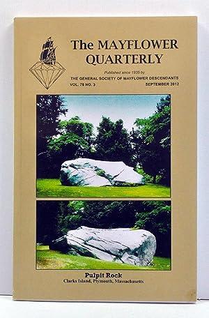 The Mayflower Quarterly, Volume 78, Number 3: Teal, Alice C.