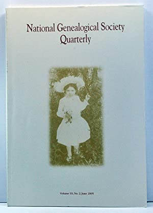 National Genealogical Society Quarterly, Volume 93, Number: Bettag, Claire M.
