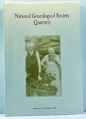 National Genealogical Society Quarterly, Volume 94, Number: Jones, Thomas W.