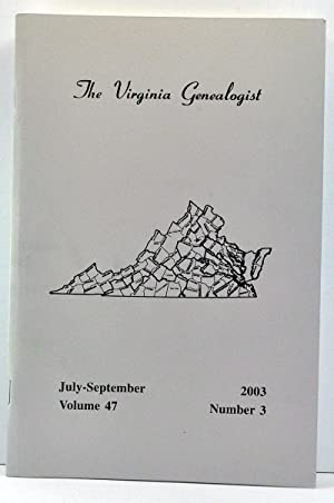 The Virginia Genealogist, Volume 47, Number 3,: Dorman, John Frederick