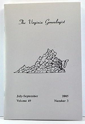 The Virginia Genealogist, Volume 49, Number 3,: Dorman, John Frederick