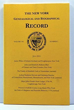 The New York Genealogical and Biographical Record,: DeGrazia, Laura Murphy
