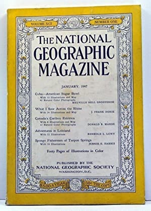 The National Geographic Magazine, Volume 91, Number 1 (January, 1947)
