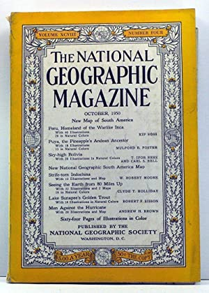The National Geographic Magazine, Volume 98, Number 4 (October, 1950)
