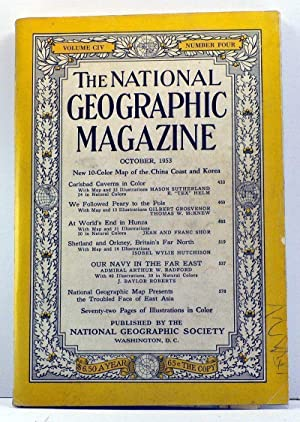 National Geographic Magazine, Volume 104, Number 4: Grosvenor, Gilbert (ed.);