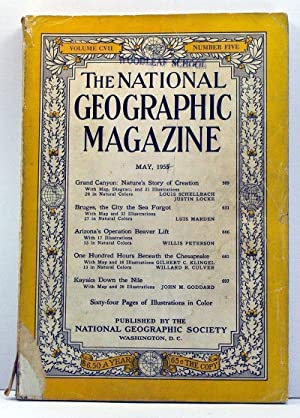 National Geographic Magazine, Volume 107, Number 5 (May, 1955)