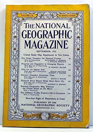National Geographic Magazine, Volume 110, Number 3: Grosvenor, Gilbert (ed.);
