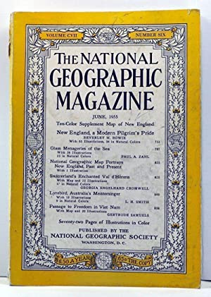 The National Geographic Magazine, 107, Number 6 (June 1955)