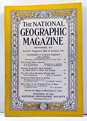 The National Geographic Magazine, 108, Number 3 (September 1955)